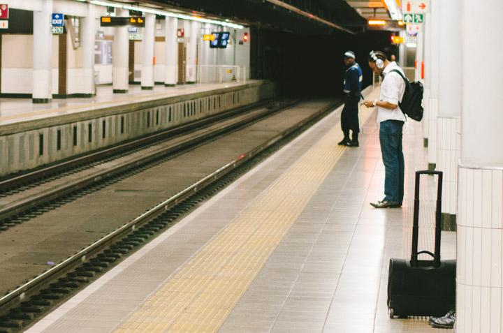 The Rosebank commuter
