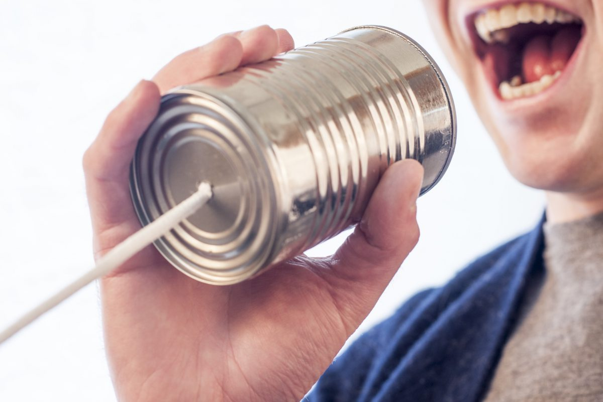How best to contact someone new